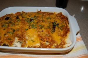 Burrito Cassarole